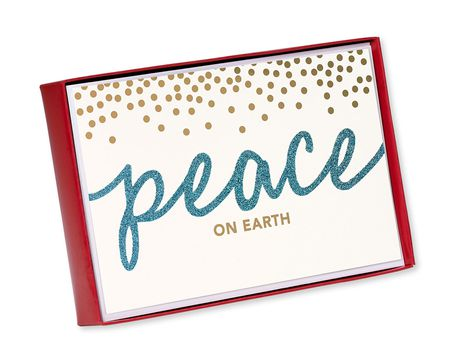 Peace on Earth Christmas Boxed Cards, 14 Count