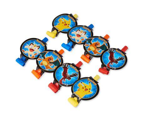 Pokémon 8-Count Party Blowers