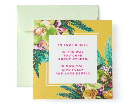 Spirit Greeting Card For Her