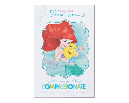 disney princesses mother's day card