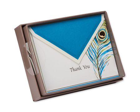 feathered quill thank you notes