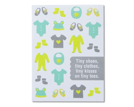 Happy Shower New Baby Congratulations Card