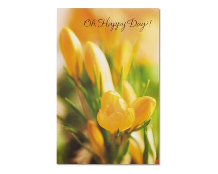 tulip easter card, 6-count