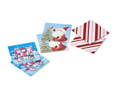 whimsical christmas gift tags 6 ct