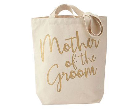 Mud Pie Mother Of The Groom Wedding Canvas Totes