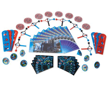 Avengers Epic Party Favor Pack, Value Pack, Party Supplies