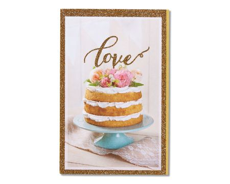 love bridal shower card