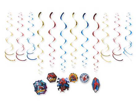 Spider-Man Hanging Party Decorations