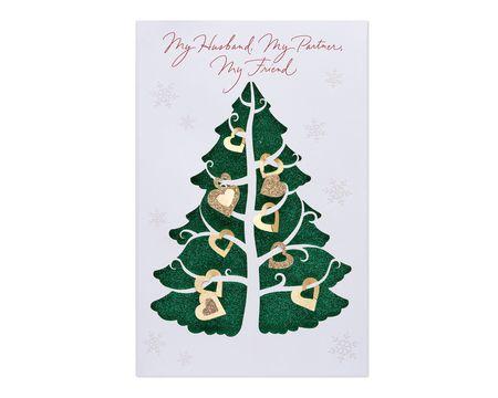 Partner Friend Christmas Card for Husband