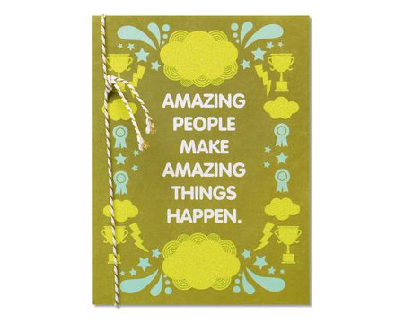 Amazing Things Congratulations Card