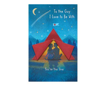 Guy I Love Valentine's Day Card
