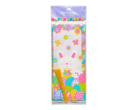 easter bunny party bags 20 ct