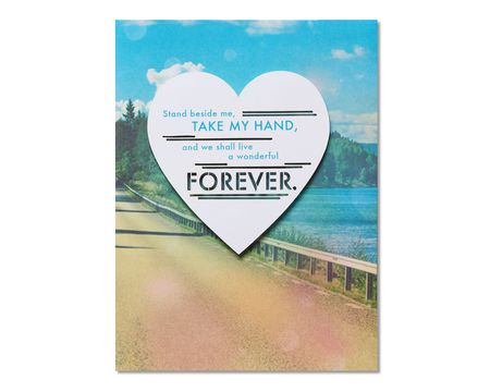 Romantic Forever Card