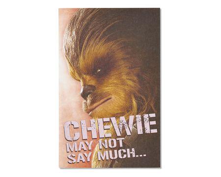 star wars valentine's day card