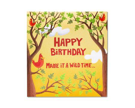 Wild Time Birthday Card
