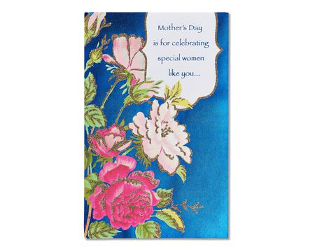 wonderful woman mother's day card