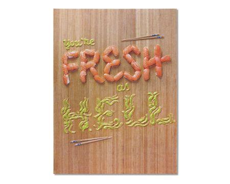 Fresh as Hell Blank Card
