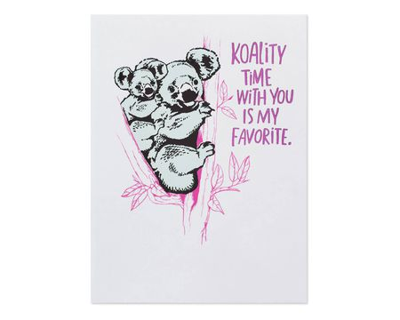 Koality Time Mother's Day Card