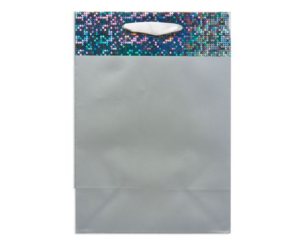 Gift bags shop american greetings small silver gift bag negle Images