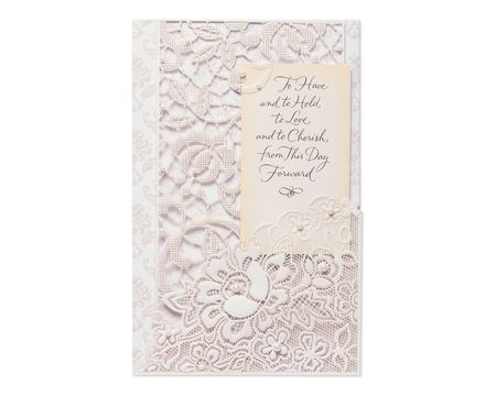 Love that Deepens Wedding Card