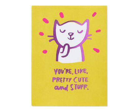 Pretty Cute Valentine's Day Card