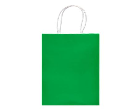 Gift bags shop american greetings solid green small gift bag negle Choice Image