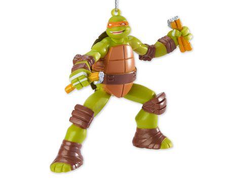 Teenage Mutant Ninja Turtles Michelangelo Christmas Tree Ornament