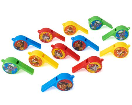Paw Patrol Whistles, 12 Count