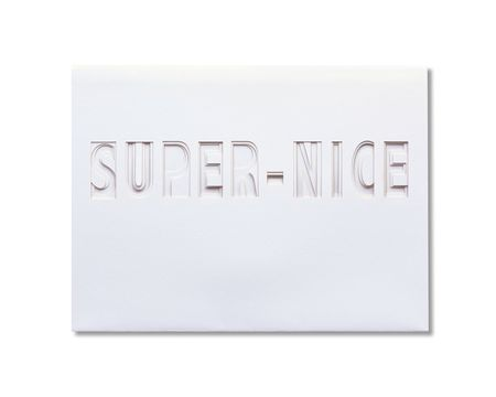 Super-Nice Thank You Card