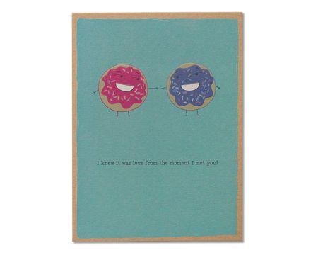 Doughnuts Romantic Card