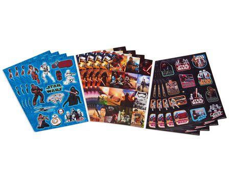 Star Wars Episode VII Sticker Sheets, 12 Sheets