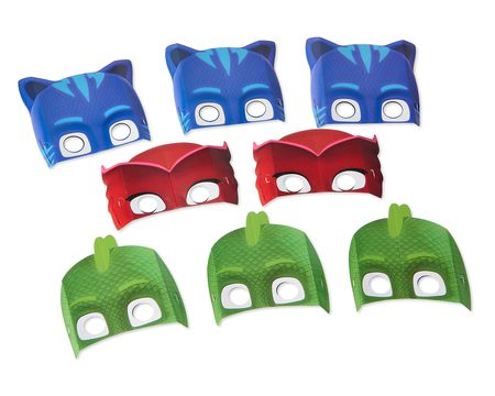 PJ Masks Party Masks, 8 Count
