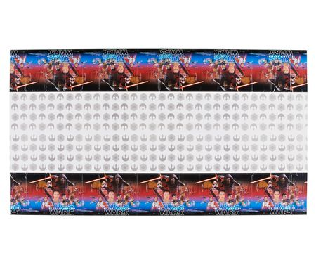 star wars: the force awakens plastic table cover 54in x 96in