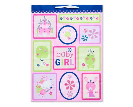 jumbo baby girl fairytale icons gift bag