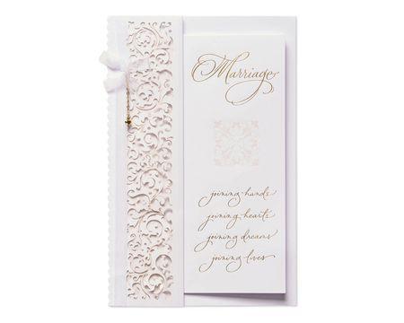 Joy Wedding Card