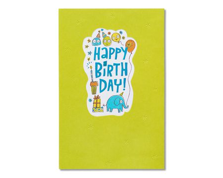 Be Happy Birthday Card