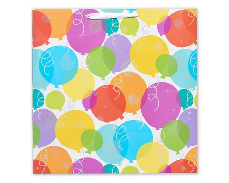 extra large glitter balloons birthday gift bag