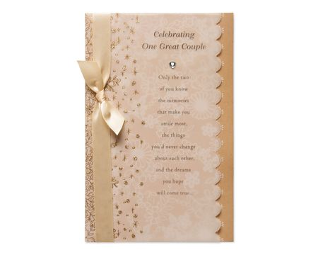 Great Couple Wedding Card