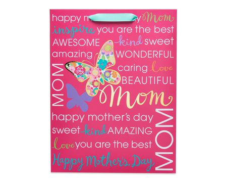 Medium Happy Mother's Day Butterfly Gift Bag