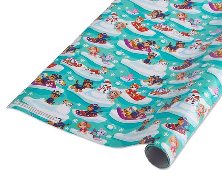 paw patrol christmas wrapping paper