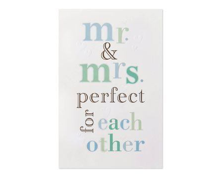 Perfect Wedding Card