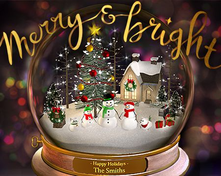 Snow Globe Wishes (Personalized & Interactive)