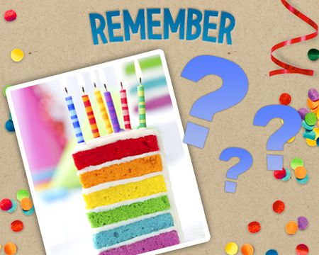 Birthday Memory Madness (Game)