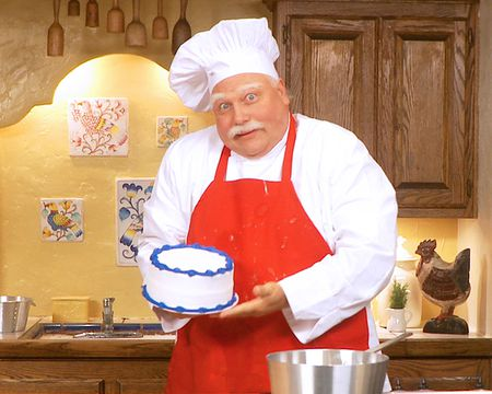 Baker Bob Birthday Cake (Personalize)