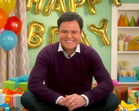 Donny Osmond - A Birthday Song for You Ecard (Personalized Lyrics)