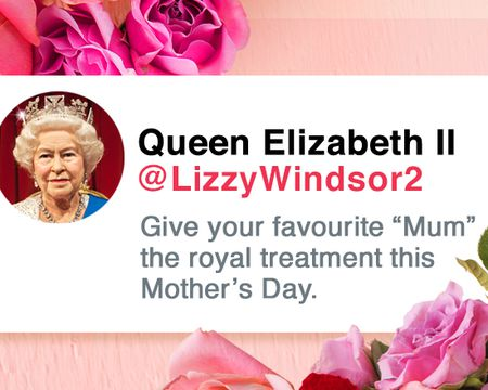 Queen for the Day Mother's Day Ecard (Personalize)