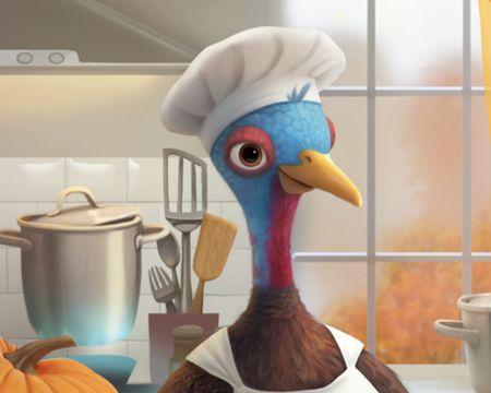 Talking Turkey Ecard (Personalize)