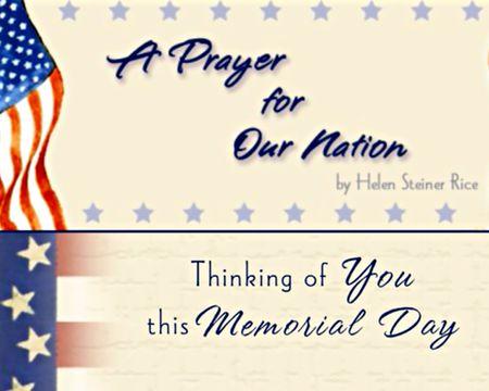 A Prayer For Peace