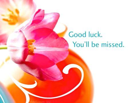 Good-bye, Good Luck