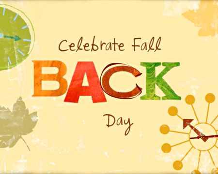 Fall Back Day